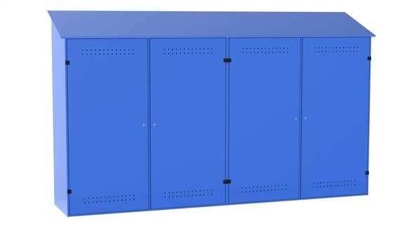 Шкаф для баллонов с газом: виды, требования к конструкции