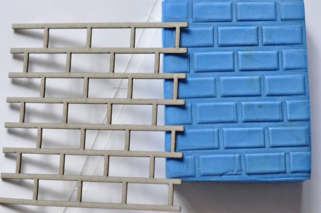 Имитация кирпичной кладки своими руками: материалы и технологии, пошаговая инструкция :: syl.ru