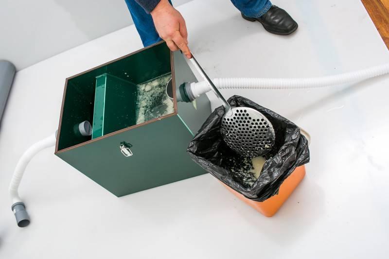 Установка жироуловителя под мойку: принцип работы, монтаж в частном доме, для чего нужен жироуловитель на раковину, как выбрать, как установить