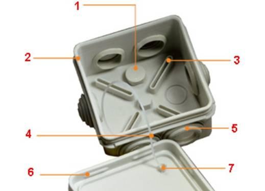 Монтаж распаячной коробки для наружной и скрытой проводки