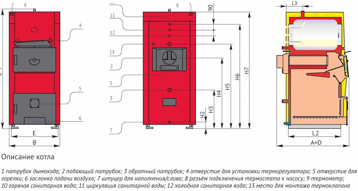Мощность котла для дома 200 кв м - всё об отоплении