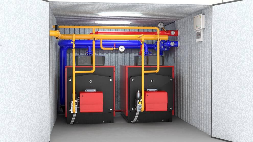 Нормы установки газового котла в частном доме: расстояние до стены помещения, от котла до окна и газовой трубы, размещение в индивидуальном жилом доме, каким должно быть помещение, объем, где разместить котел
