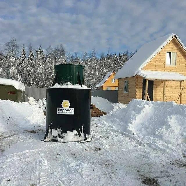 Инструкция по установке септика зимой и разбор ошибок