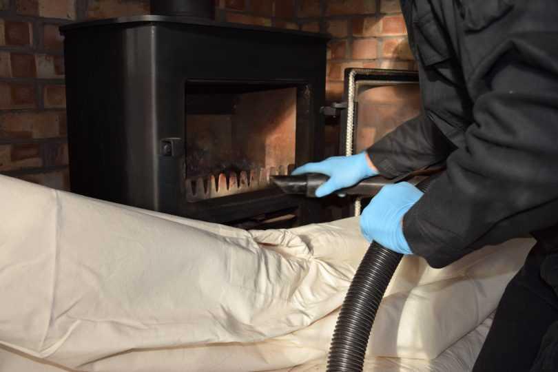 Как почистить печь от сажи не разбирая
