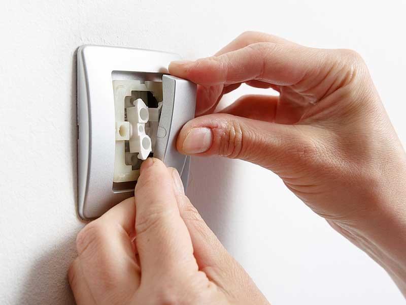 Как заменить старый выключатель на новый