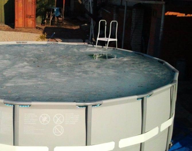 Где хранить зимой каркасный бассейн: подготовка и хранение