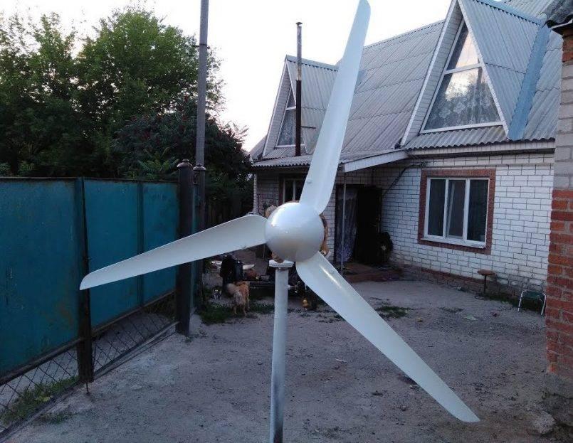 Ветряк своими руками или как получить свет с помощью ветра