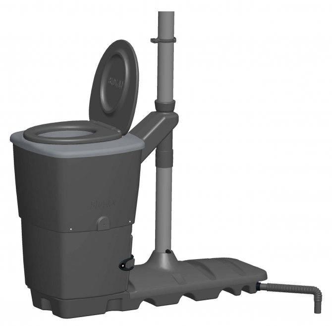 Торфяной туалет для дачи - плюсы и минусы