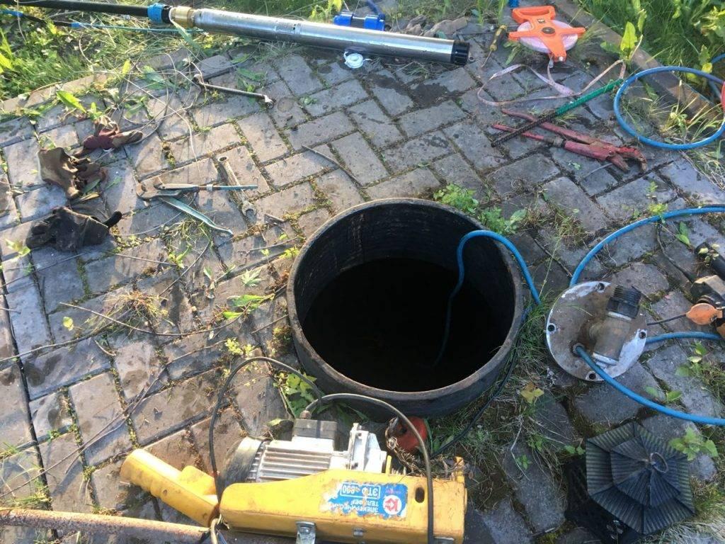Чистка скважин - методы самостоятельно выполнить очистку