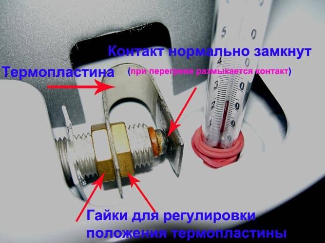 Датчик тяги газового котла
