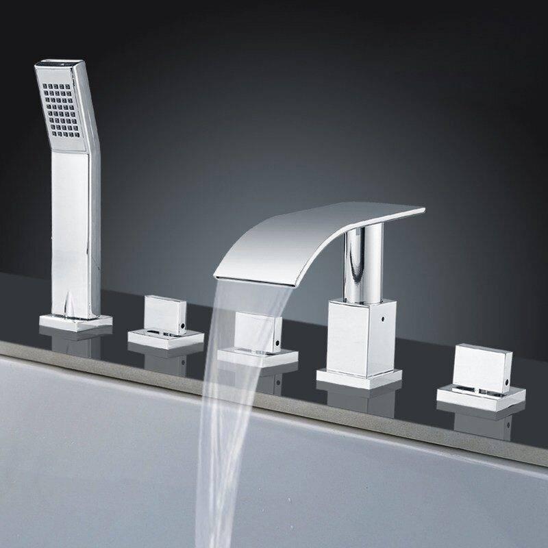 Как установить смеситель в ванной на стену