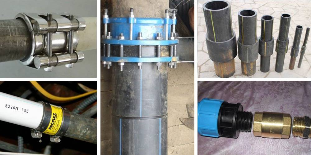 Как соединить канализационные трубы: пластиковые, стальные, полипропиленовые