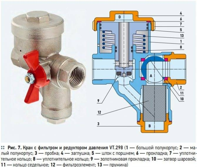 Как самостоятельно устранить поломку, если течет редуктор давления воды?