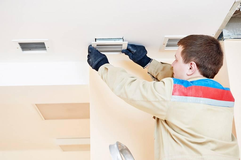 Основные неисправности систем вентиляции и их ремонт