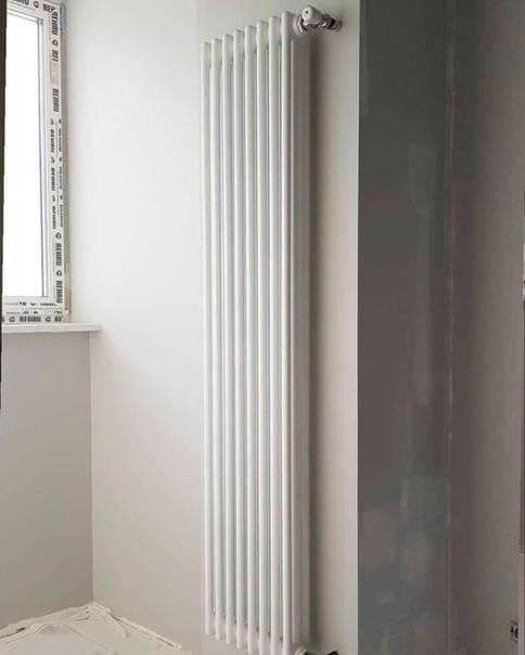 Особенности выбора и установки вертикальных радиаторов отопления