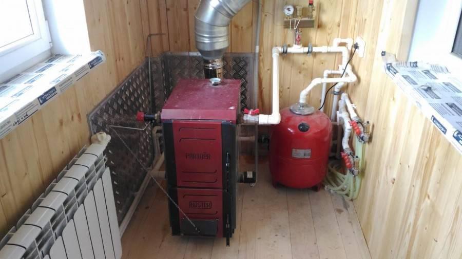 Самодельный котел для отопления частного дома