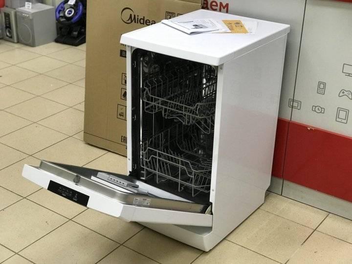 Обзор посудомоечной машины 45 см midea mfd45s100w