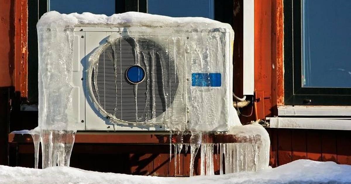 Работа кондиционера зимой - tehnofaq