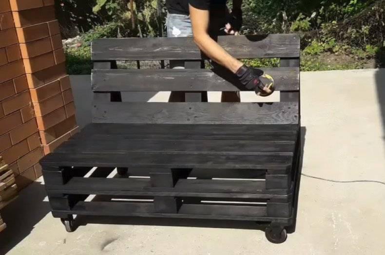 Мебель своими руками из поддонов: лучшие идеи + пошаговая инструкция по сборке