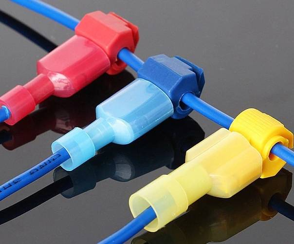 Соединитель для проводов электрических, соединительные сжимы