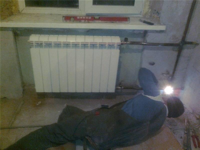 Замена радиаторов отопления на сварке: технология, расчет мощности, процесс замены