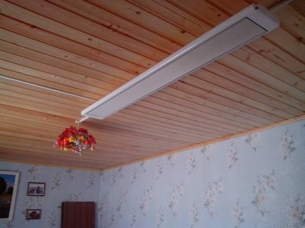 Можно ли использовать инфракрасный обогреватель для дачи и частного дома