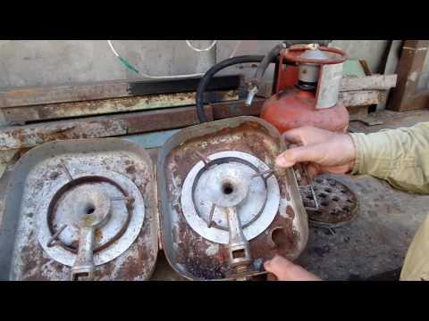 Печь для бани на газу своими руками