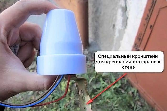 Применение фотореле для уличного освещения