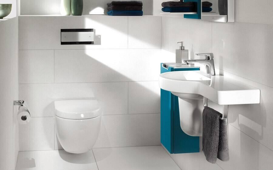 Дизайн маленького туалета: 75 лучших идеи дизайна и советы
