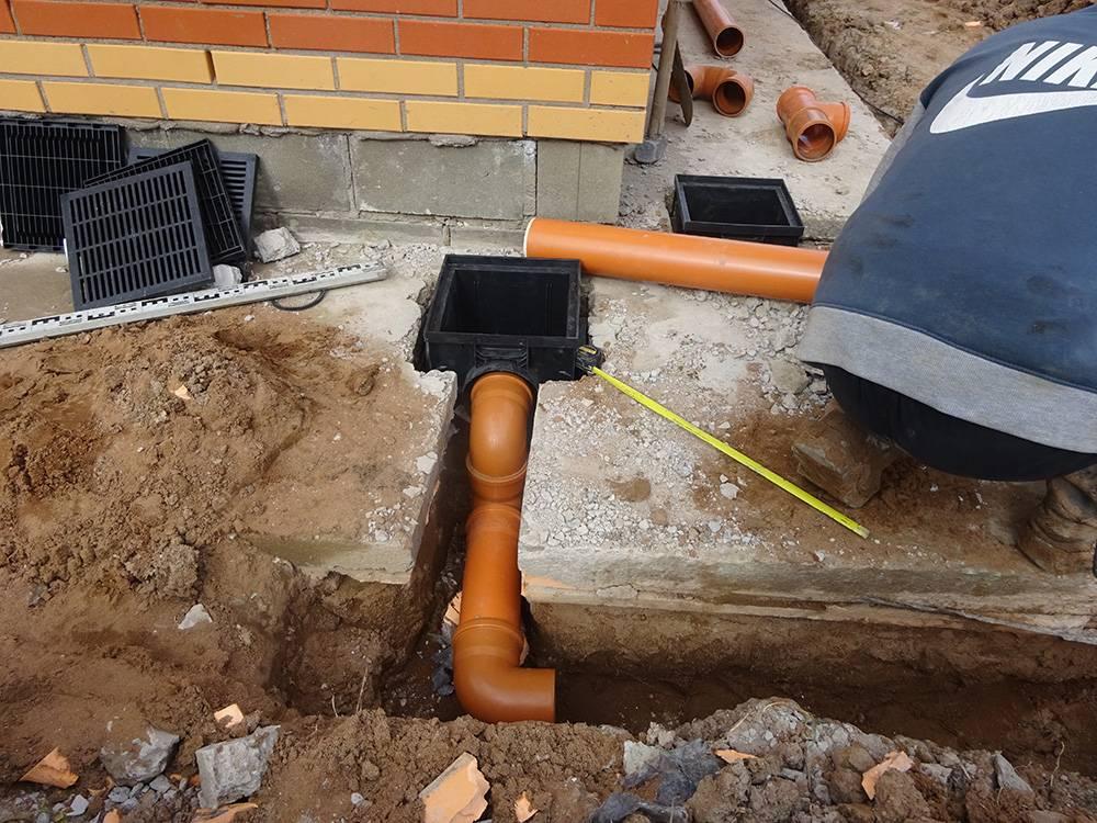Ливневая система водоотведения на даче своими руками: устройство канализации и монтаж своими руками - виды