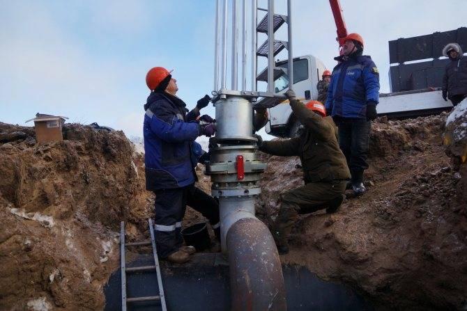 Врезка в действующий газопровод под давлением: подробная инструкция по выполнению