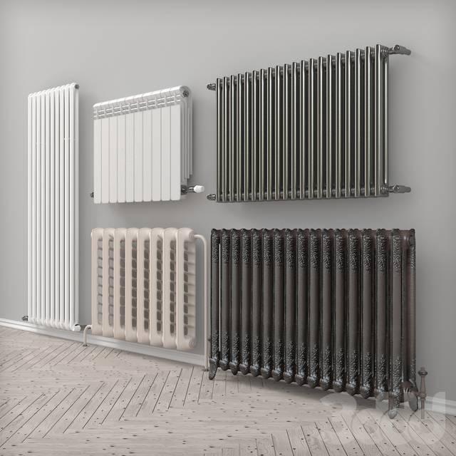 Стальные радиаторы (батареи) отопления – панельные, трубчатые