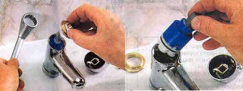 Ремонтируем однорычажный смеситель самостоятельно