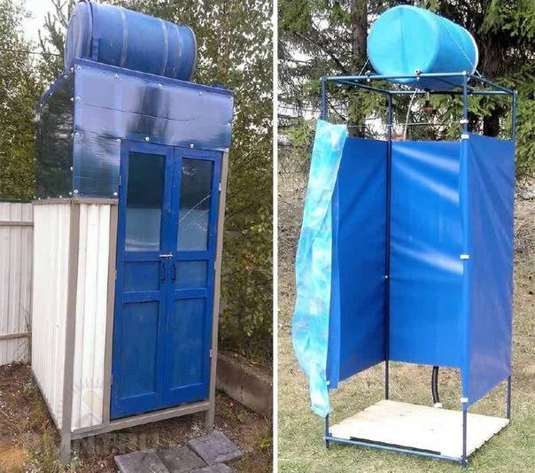 Летний душ на даче, построенный своими руками: пошаговая инструкция, чертежи, фото
