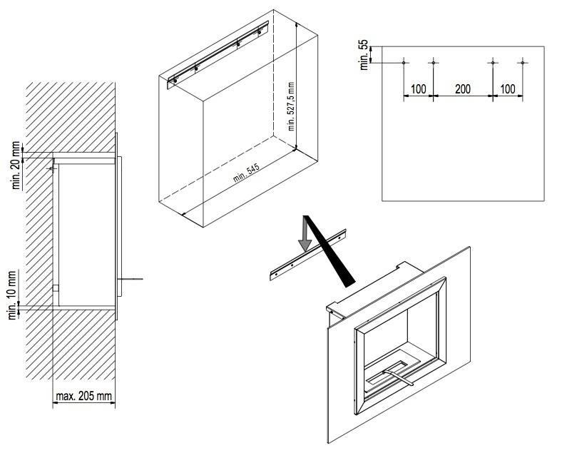 Как сделать биокамин самостоятельно - инструкция и чертежи