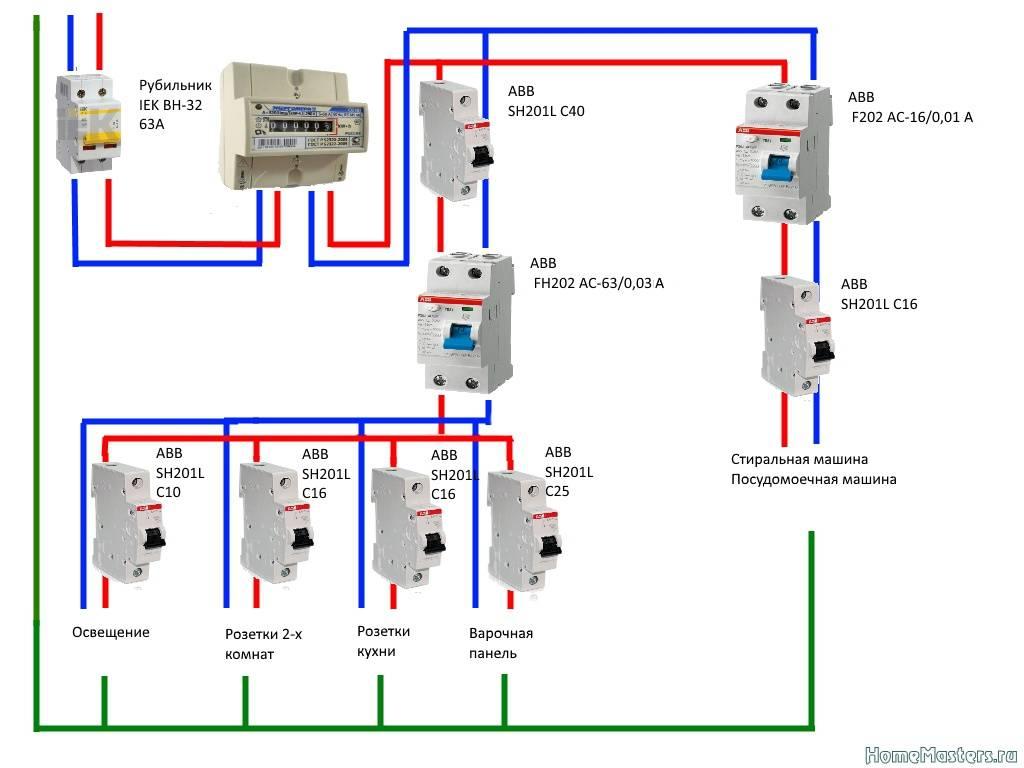 Как подключить узо в квартире без заземления: разбор схем и пошаговая инструкция