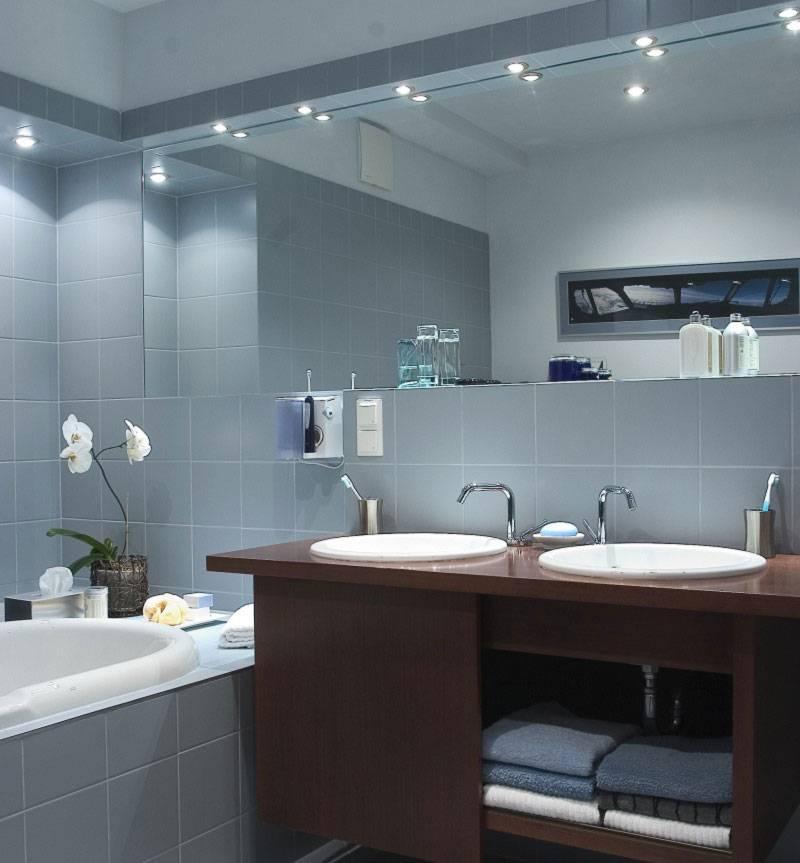 Какие светильники лучше для ванной?