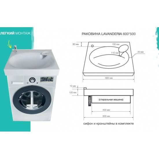 Топ-7 лучших стиральных машин под раковину: как установить, плюсы и минусы, отзывы