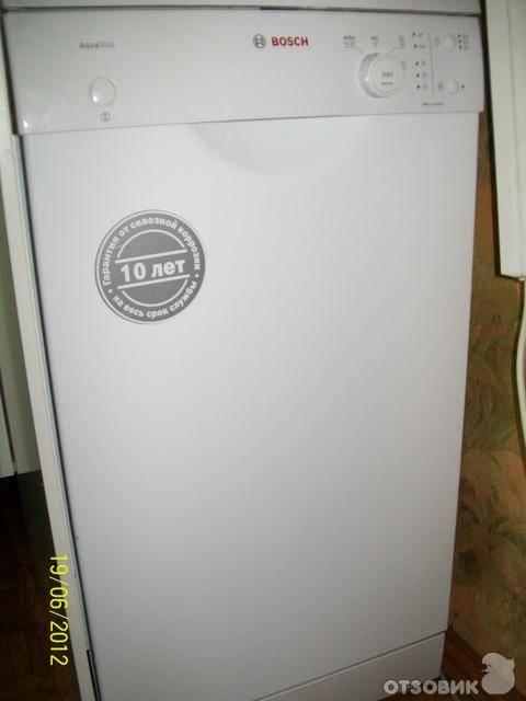 Обзор посудомоечных машин bosch