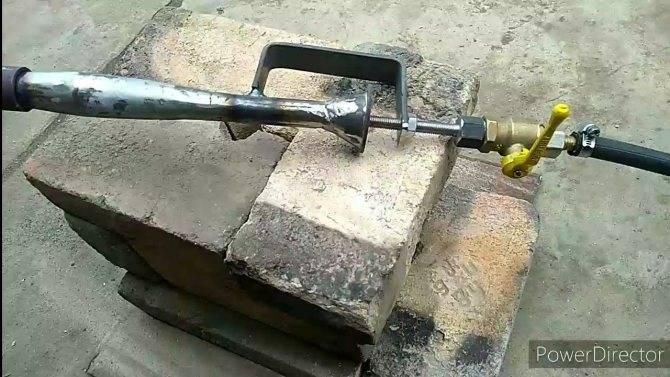 Газовая горелка для горна своими руками