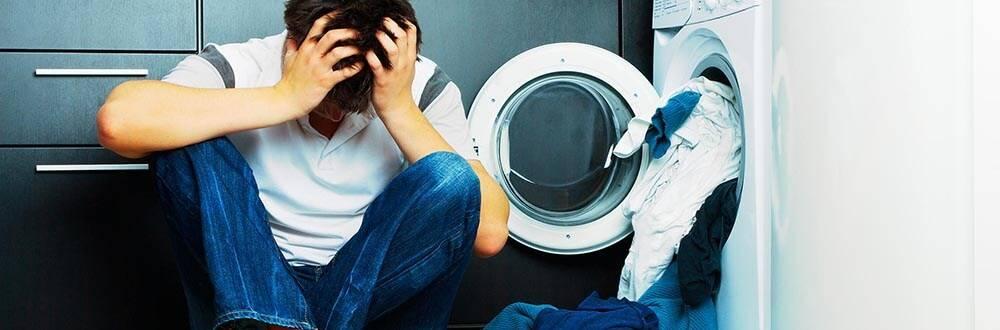 Стиральная машина не отжимает белье: почему не работает отжим?