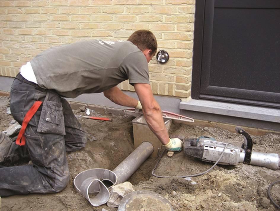 Основные приемы проведения очистки ливневой канализации