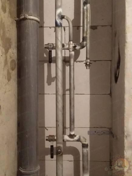 Ремонт изамена стояка водоснабжения вквартире: ответы на14актуальных вопросов