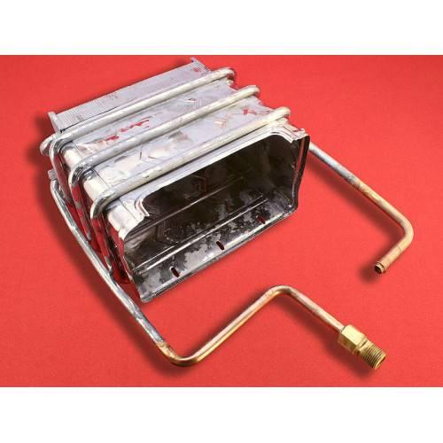 Теплообменник в газовом котле: какой лучше, сравнение стальных, медных, чугунных и алюминиевых конструкций в напольных и настенных котлоагрегатах
