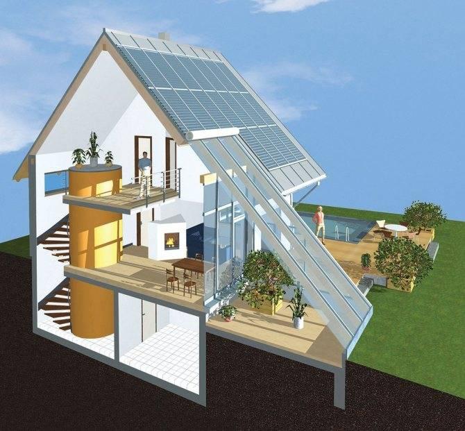 Строительство энергоэффективных домов, как повысить энергоэффективность здания
