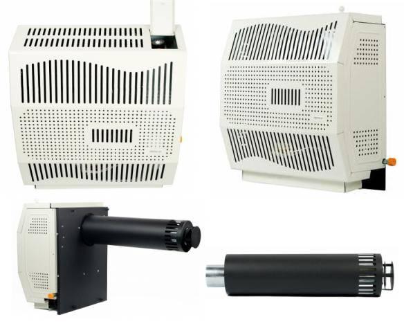 Отопительные газовые конвекторы на баллонном или природном газе