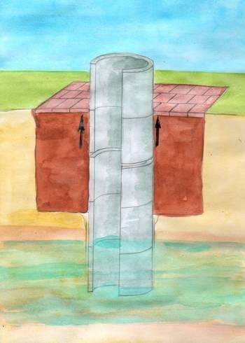 Нужен ли глиняный замок для колодца?