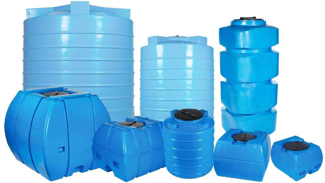 Пластиковый бак для воды: 80, 200, 300, 500 и 1000 литров- виды и особенности моделей +видео