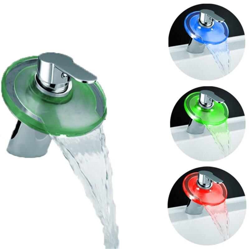 Смеситель водопад для раковины: разновидности и устройство каскадного смесителя