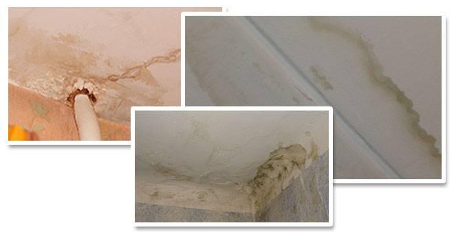 Ошибки при покраске потолка: причины пятен и разводов, способы их устранения